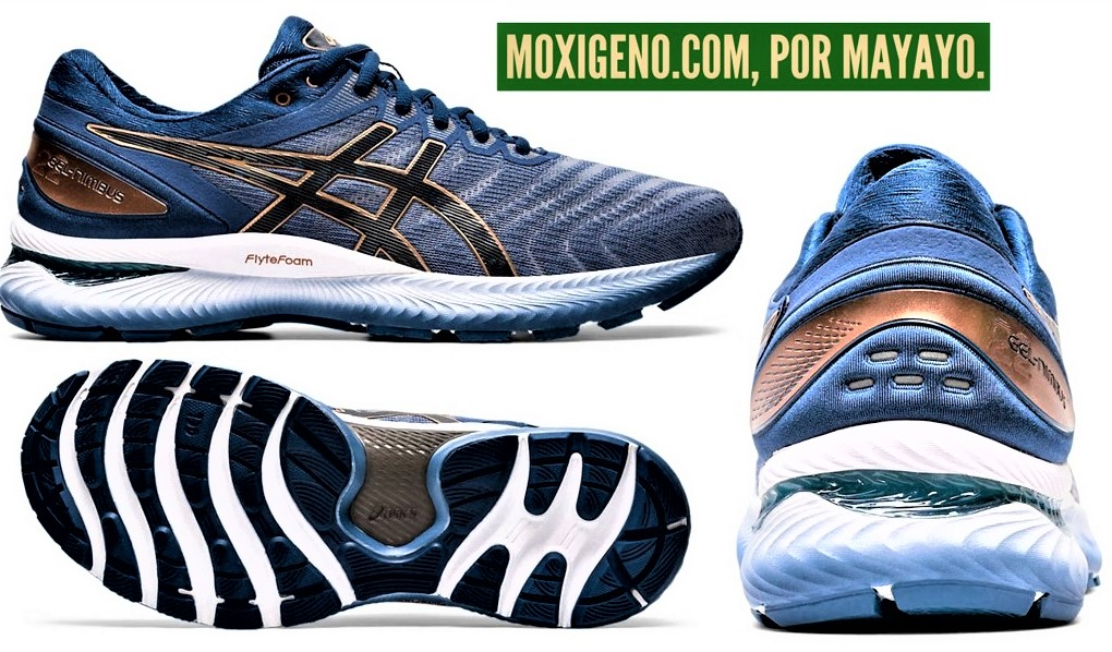 Asics Gel Nimbus 22 (310gr/Drop10mm): Zapatillas neutras superventas, para tiradas largas. Análisis técnico y alternativas.