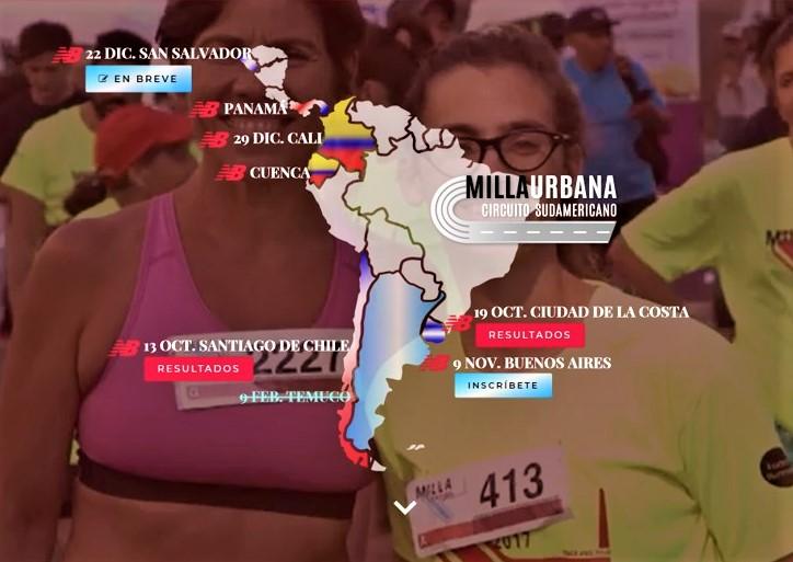 MILLA URBANA SUDAMERICANA 2019: LA MILLA URBANA DE BUENOS AIRES CONTARÁ CON 2.000 CORREDORES