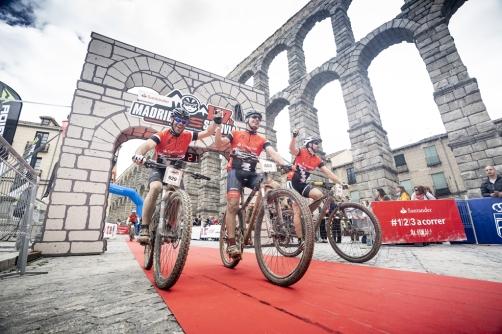 Meta Madrid Segovia MTB. Foto: Org.
