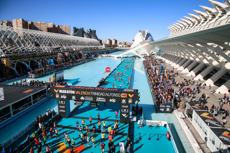 Maratón Valencia 2020 (6DIC) Inscripciones ya abiertas. Objetivo 30.000 dorsales en carrera, para su 40º aniversario.