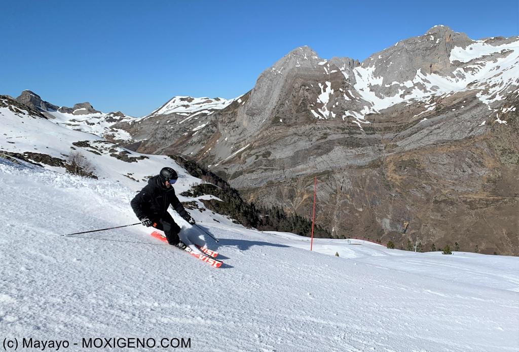 Esqui Artouste: Esquiar frente el Midi D´Ossau, en pleno Pirineo Francés, por 19€ al día.