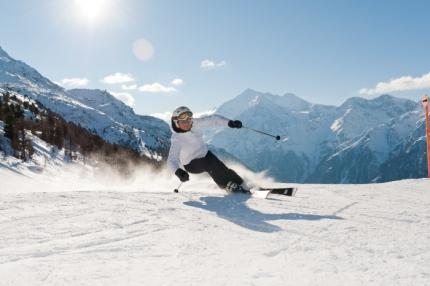 Graechen: Skifahrer