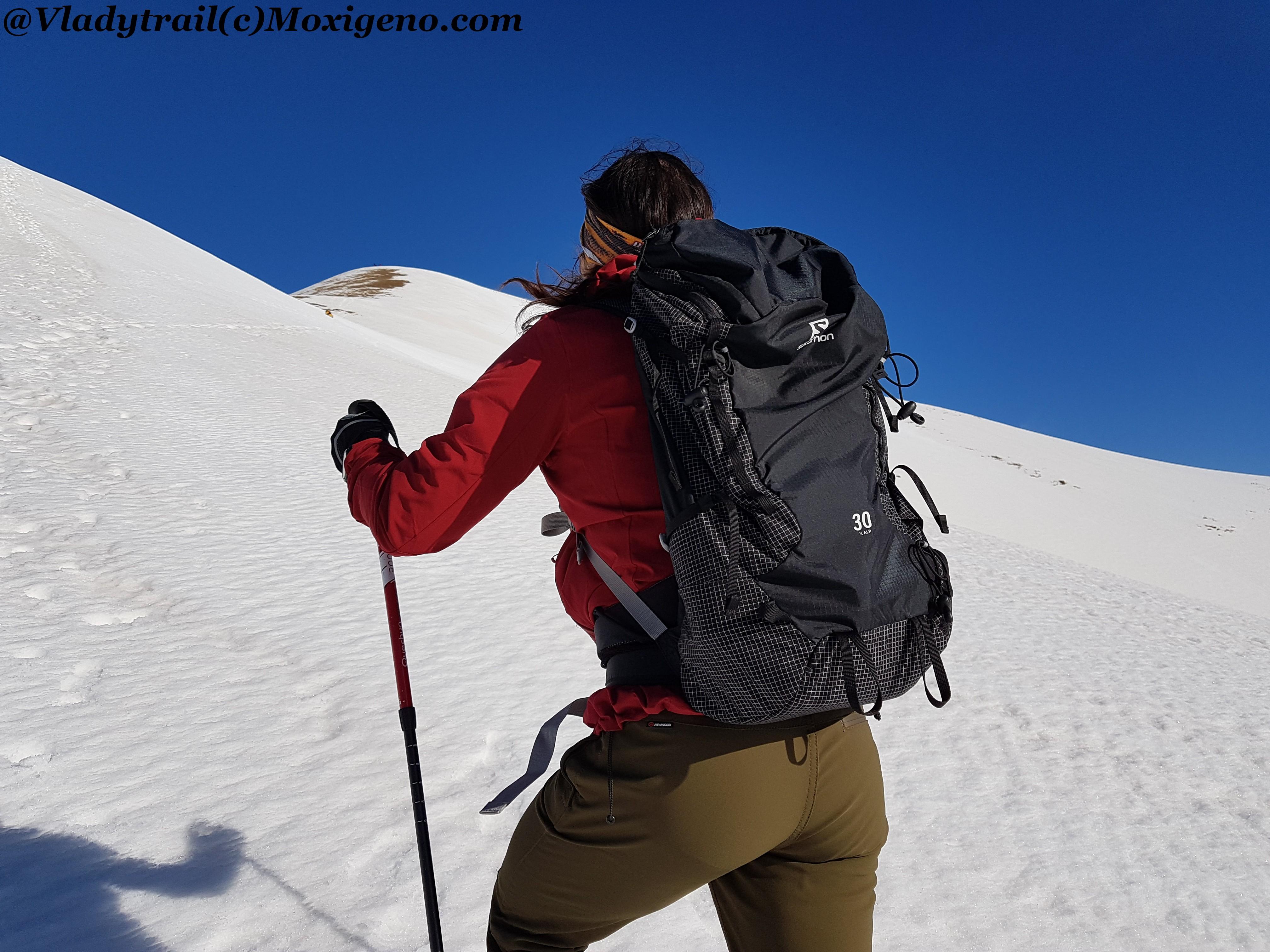 SALOMON X ALP 30L: Mochila trekking y montaña, renovada y mejorada. Prueba 200km por Vladytrail.