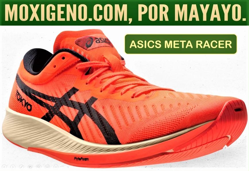 Asics Meta Racer review: Asics estrena zapatillas con placa de carbono, para el maratón de competición.