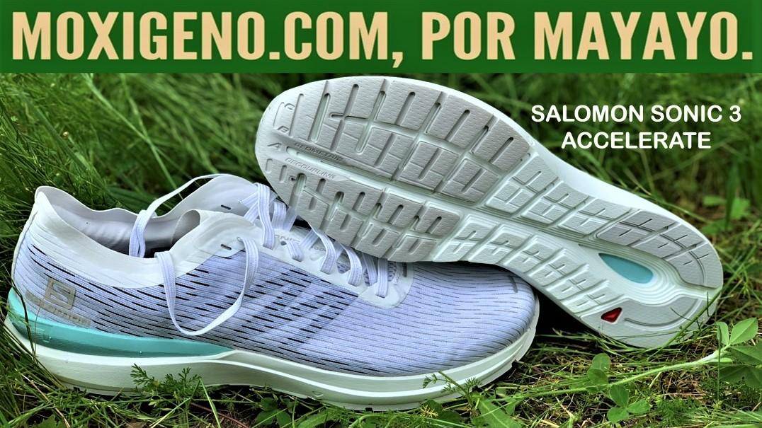 SALOMON SONIC 3 ACCELERATE REVIEW: Nueva zapatilla running asfalto de Salomon, para ritmos ágiles.